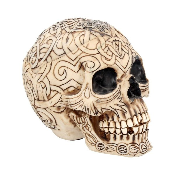 Celtic Skull Box Small 12cm