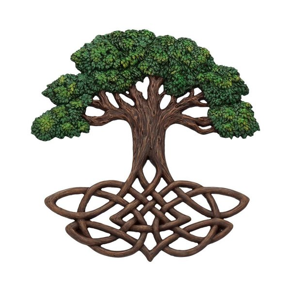 Tree of Life Wall Plaque (Painted) 31*2*33cm